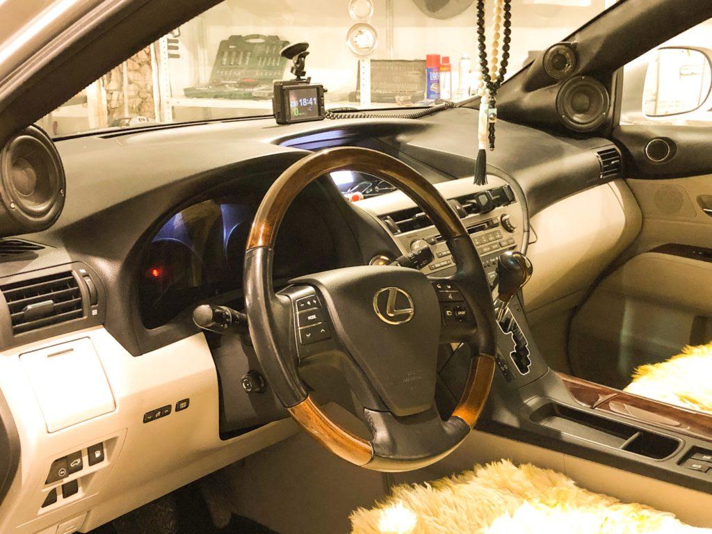 Lexus RX350 автозвук