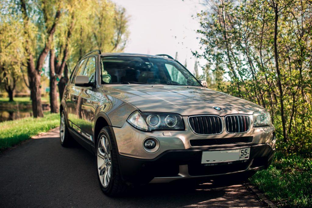 BMW X3 автозвук Омск