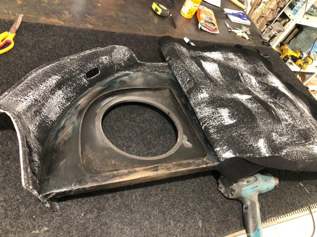 Перетяжка боковой панели Mercedes-Benz GLE-Class