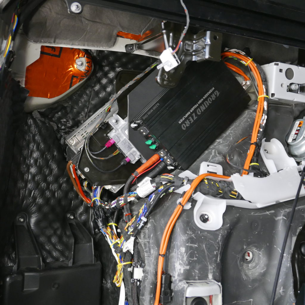 Установка моноблока BMW X5 g05