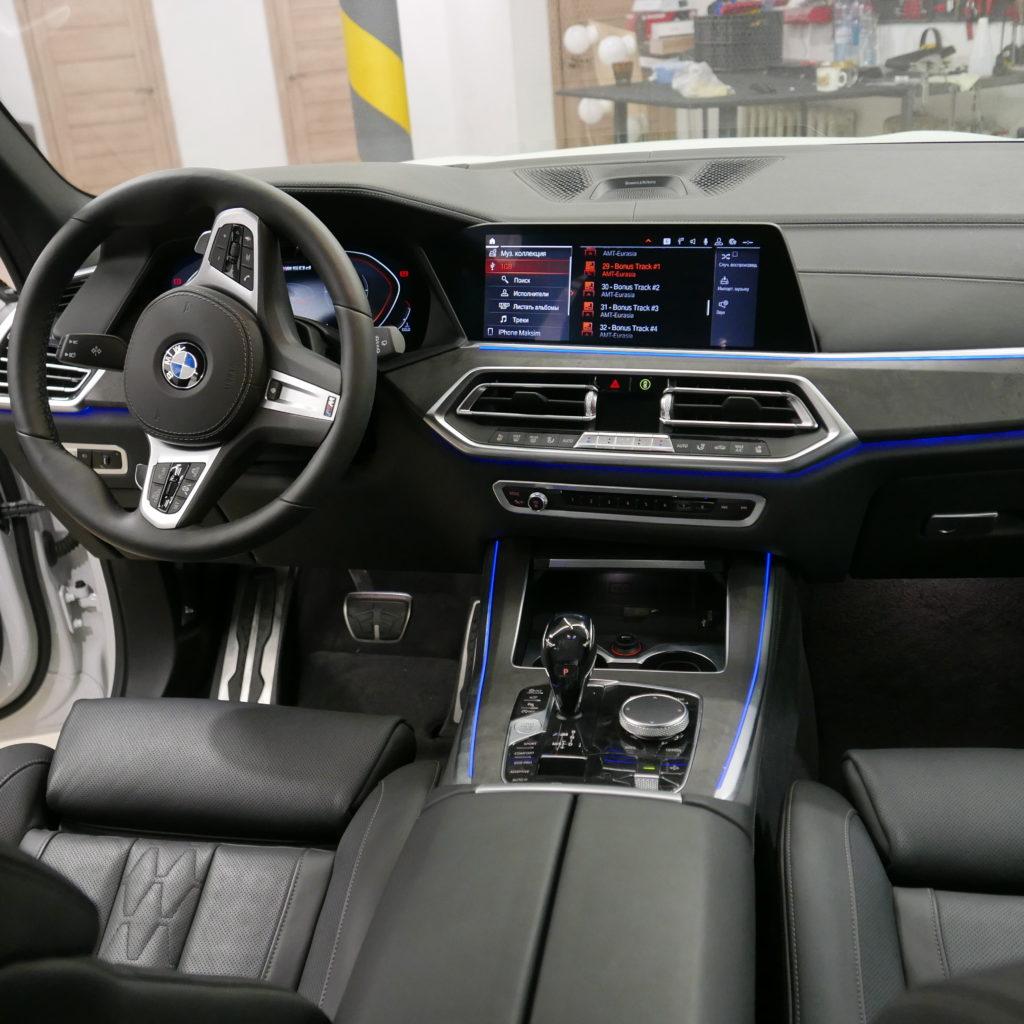 Головное устройство BMW X5 g05