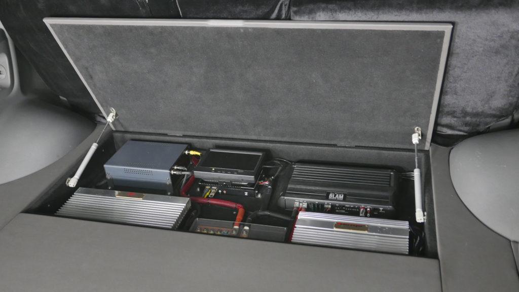 Большой фальшпол для Lexus LX570 автозвук